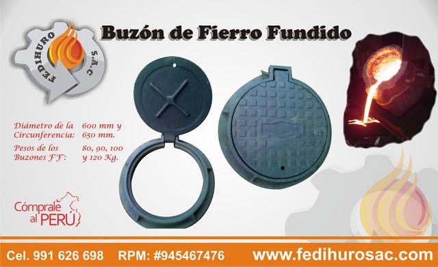 BUZONES DE FIERRO FUNDIDO - PUBLICIDAD