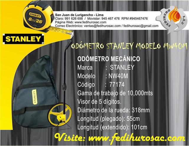 Odómetro Stanley - Publicidad
